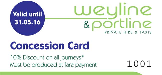 Weyline Concession Card